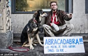 Pancarte Abracadabra